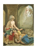 Despondency and His Daughter in Doubting Castle Giclee Print by Henry Courtney Selous