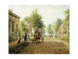 On the Way to Town, 1907 Giclee Print by Edward Lamson Henry