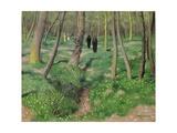 Undergrowth in Spring, 1923 Giclée-Druck von Felix Edouard Vallotton