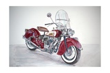 Indian Motorcycle, 2009 Giclee Print by Anthony Butera