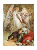 Christian and Hopeful Chastised Giclee Print by Henry Courtney Selous