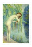 Bather Washing Her Hair; Baigneuse Se Lave Les Cheveux, 1903 Giclee Print by Hippolyte Petitjean