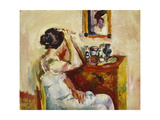 Morning Wash; Morgenvask, 1921 Giclee Print by Ludwig Karsten