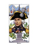 Admiral Nelson, 1936 Giclee Print by René Bull