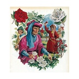 The War of the Roses Giclee Print by  English School