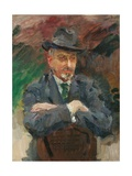 Portrait of J. Wolterbeek Muller, 1925 Giclee Print by Isaac Israels