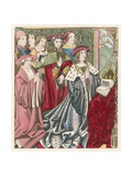 Henry VI and His Court Giclee Print by Henry Shaw