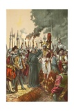 Burning of the Inca Giclee Print by  North American