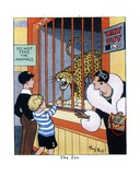 The Zoo, 1936 Giclee Print by René Bull