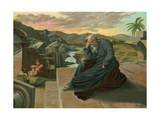 Jeremiah Lamenting the Disgrace of Jerusalem Giclee Print by F. Xumetra