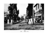 Rothschild Boulevard, Tel Aviv, Israel, 1926 Giclee Print