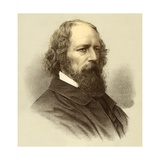 Alfred Tennyson Giclee Print by  English School