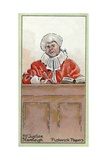 Mr. Justice Stareleigh, from 'The Pickwick Papers' by Charles Dickens, 1923 Giclee Print by Joseph Clayton Clarke