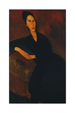 Portrait of Anna Zborowska, 1917 Giclee Print by Amedeo Modigliani
