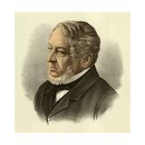 Baron Lionel Nathan de Rothschild Giclee Print by  English School