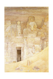 Abu Simbel, 1900 Giclee Print by Henry Roderick Newman