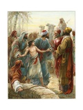 Joseph Sold to the Ishmaelites Giclee Print by Ambrose Dudley
