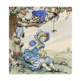 Little Miss Muffet Giclee Print by Jesus Blasco