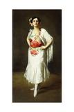 La Reina Mora, 1906 Giclee Print by Robert Henri
