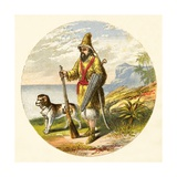 Robinson Crusoe Giclee Print by Alexander Francis Lydon