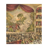 Pantomime Giclee Print by  English School