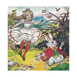 Alice in Wonderland Giclee Print by Jesus Blasco