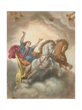 Faithful's Ascent to the Celestial City Giclee Print by H. Castelli