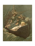 Jesus Sleeping During the Storm Giclee Print by John Lawson