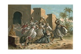 Death of Ramon Llull Giclee Print by  Spanish School