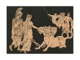 Cerberus Giclee Print by Bartolomeo Pinelli