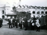 Newspaper Vendors in St Petersburg, 1913 Photographic Print by  Russian Photographer