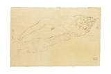 Two Reclining Nudes, c.1913 Giclée-Druck von Gustav Klimt