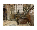 Interior of Allhallows, Barking-By-The-Tower Giclee Print by John Fulleylove