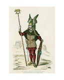Gallic Chief Carrying the Insignia of War Giclee Print by  French School
