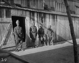 Indian Guards at the Camp, c.1915 Photographic Print by Jacques Moreau