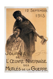 Nivernaise Day for the War Disabled Fund, 1915 Giclee Print by Maurice Louis Henri Neumont