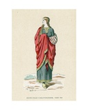 Young Girl, Circa 990 Giclee Print by  French School