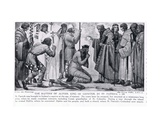 The Baptism of Alphin, King of Leinster, by St. Patrick, Illustration from 'Hutchinson's History… Giclee Print by James Ward