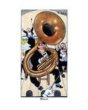 Music, 1936 Giclee Print by René Bull