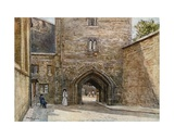Gateway to Bloody Tower, with Entrance to the Jewel House Giclee Print by John Fulleylove