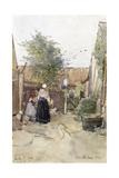 A Back Garden, Berck Sur Mer, 1904 Giclee Print by Patty Townsend Johnson