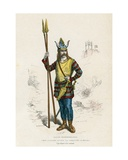 Gallic Chief before the Conquest of the Romans Giclee Print by  French School