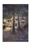 A Cafe Chantant Giclee Print by Mortimer Ludington Menpes