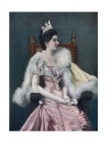 The Queen of Italy Giclee Print by  English Photographer
