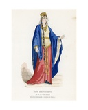 Queen, of the 5th to 8th Century Giclee Print by  French School