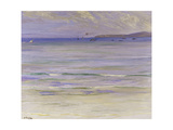 Tangier Bay, 1920 Gicleetryck av Sir John Lavery
