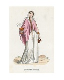 Gallic Woman Giclee Print by  French School