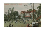 Hampstead, Golder's Hill, the Mansion. Postcard Sent on 18 Augusy 1913 Giclee Print by  English Photographer
