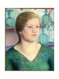 Annie Stiles, 1921 Giclee Print by Dora Carrington