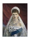 The Dowager Empress of Russia Giclee Print by  English Photographer
